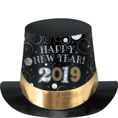 2015 New Year's Top Hat