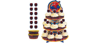 Ultimate Spider-Man Cupcake Kit For 24