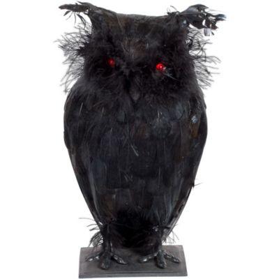 Light-Up Creepy Owl