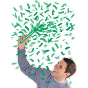 Festive Green Flutter Tissue Paper Confetti Wands 6ct