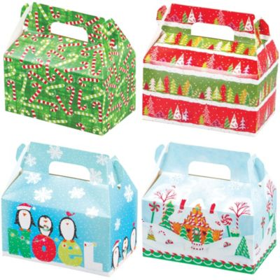 Christmas Treat Boxes 4ct