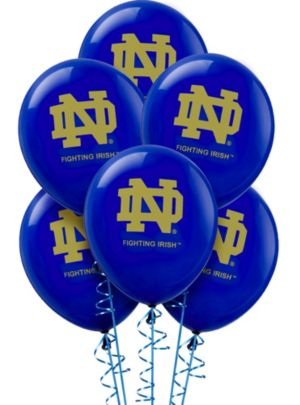 Notre Dame Fighting Irish Balloons 10ct