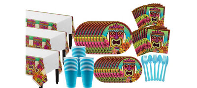 Tropical Tiki Mega Party Kit