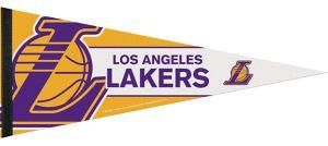 Los Angeles Lakers Pennant Flag