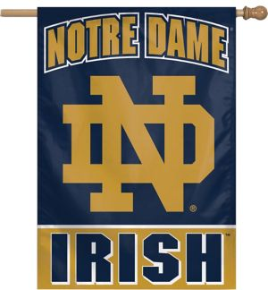 Notre Dame Fighting Irish Banner Flag