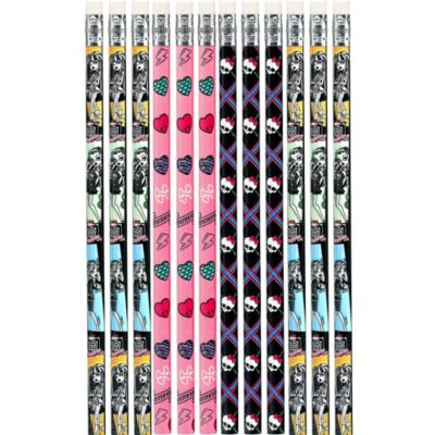 Monster High Pencils 12ct