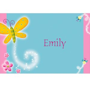Custom Dazzling Butterfly Thank You Notes