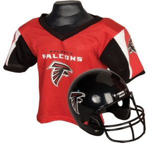 Child Atlanta Falcons Helmet & Jersey Set