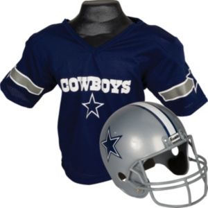 Dallas Cowboys Helmet Jersey Set