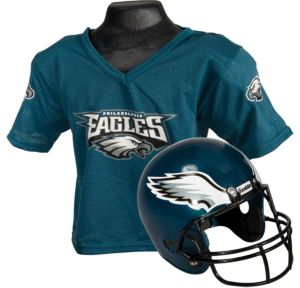 Child Philadelphia Eagles Helmet & Jersey Set