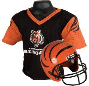 Child Cincinnati Bengals Helmet & Jersey Set