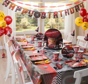 Cars Party Supplies Super Party Kit for 8 Guests