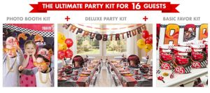 Cars Party Supplies Ultimate Party Kit