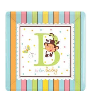 Fisher-Price ABC Baby Shower Dessert Plates 18ct