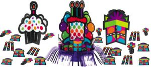 Happy Birthday Table Decorating Kit 23pc - Rainbow Dot
