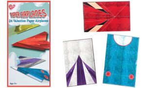 Paper Planes Valentine Exchange Cards 24ct