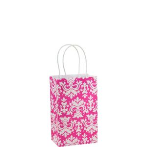 Pink Brocade Mini Gift Bag