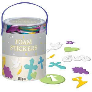 Foam Communion Stickers Assortment 285ct