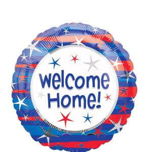 Welcome Home Balloon - Patriotic