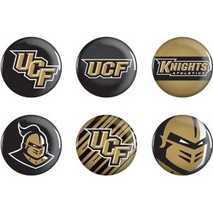 UCF Knights Buttons 6ct