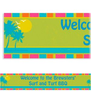 Custom Summer Dreams Banner 6ft