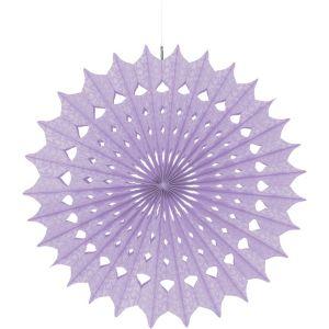 Lilac Paper Fan Decoration