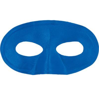 Blue Fabric Eye Mask