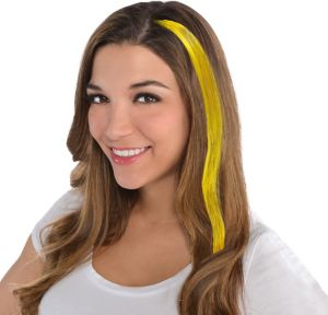 Yellow Hair Extensions 15in