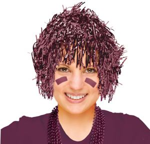 Berry Tinsel Wig