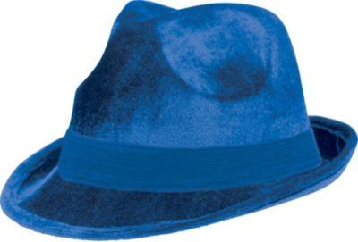 Blue Suede Fedora
