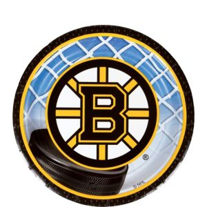 Boston Bruins Dessert Plates 8ct