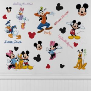 Mickey Mouse and Friends Wall Decals