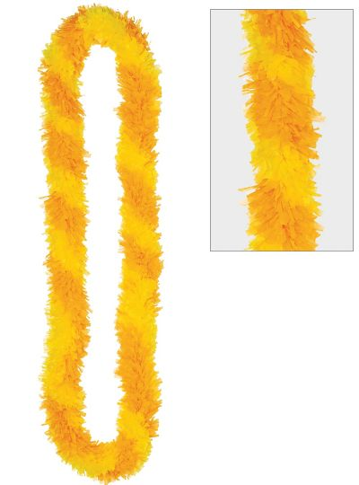 Two-Tone Yellow Lei