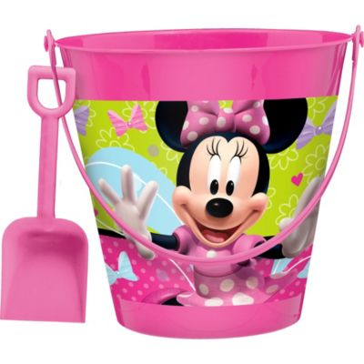 Minnie Mouse Pail with Shovel