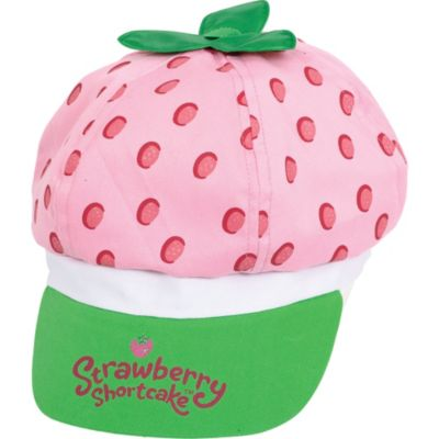 Child Strawberry Shortcake Hat Deluxe
