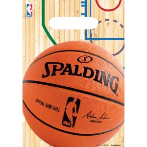 Spalding Basketball Favor Bags 8ct