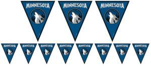 Minnesota Timberwolves Pennant Banner