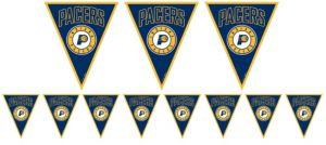 Indiana Pacers Pennant Banner