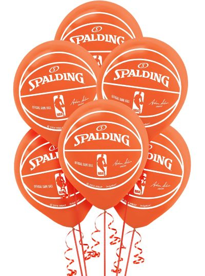 Spalding Latex Balloons 12in 6ct