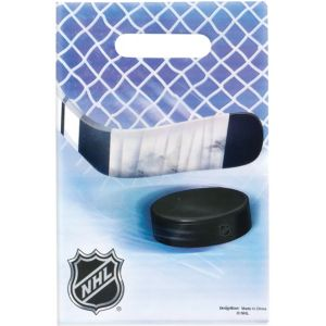 NHL Hockey Favor Bags 8ct