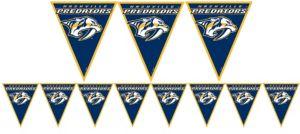 Nashville Predators Pennant Banner