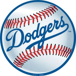 Los Angeles Dodgers Cutout