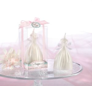 Wedding Dress Candle