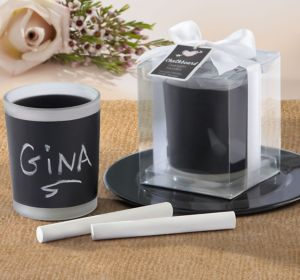 Chalkboard Candle Holder