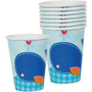 Ahoy Baby Boy Baby Shower Cups 8ct