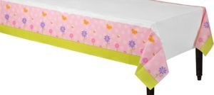 Tweet Baby Girl Paper Table Cover