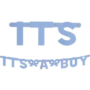 It's a Boy Baby Shower Letter Banner