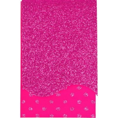 Glitter Pink Purse Notepad