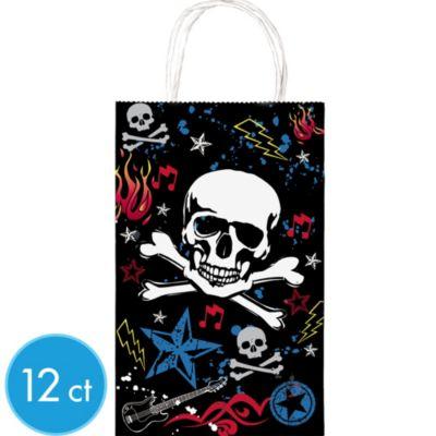 Rocker Favor Bags 12ct