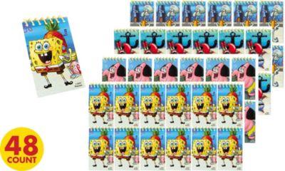 SpongeBob Notepads 48ct